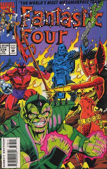 Fantastic Four (1961) 378-A by Marvel