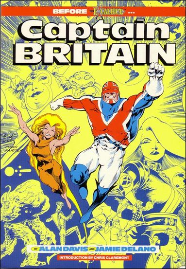 Captain Britain nn-B by Marvel