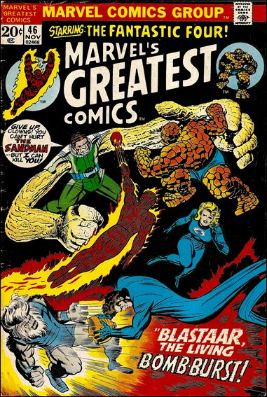 Marvel's Greatest Comics 46-A by Marvel