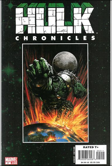 Hulk Chronicles: WWH 2-A by Marvel