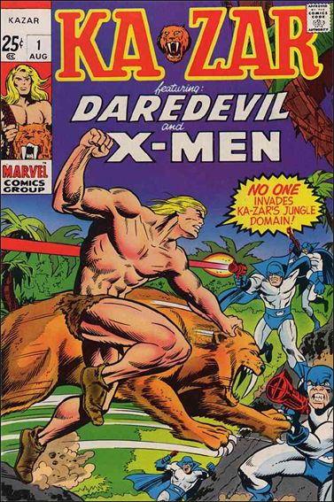 Ka-Zar (1970) 1-A by Marvel
