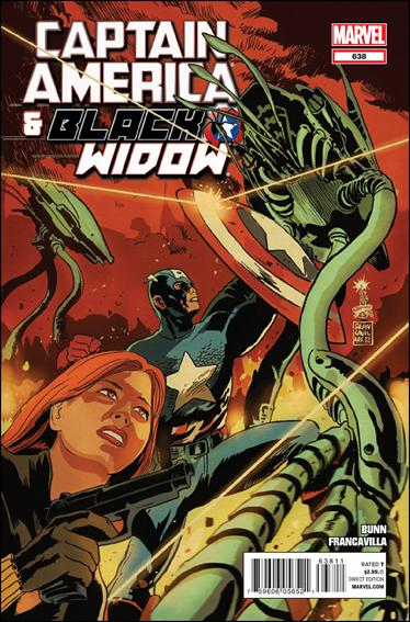 Captain America and Black Widow 638-A by Marvel