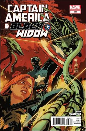 Captain America and Black Widow 638-A