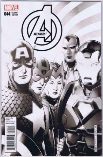 Avengers (2013) 44-F by Marvel