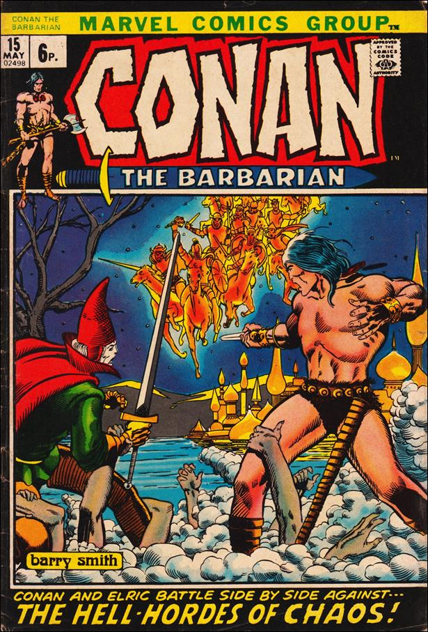 Conan the Barbarian (1970) 15-B by Marvel
