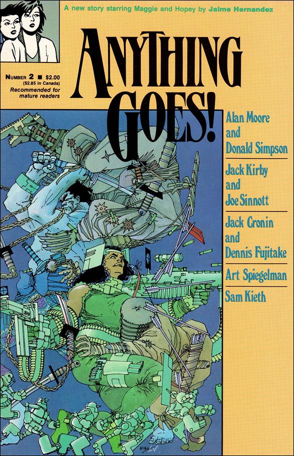 Anything Goes 2-A by Fantagraphics