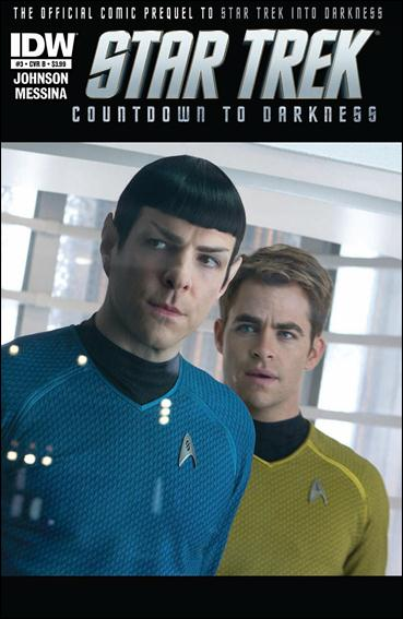 Star Trek: Countdown to Darkness 3-B by IDW