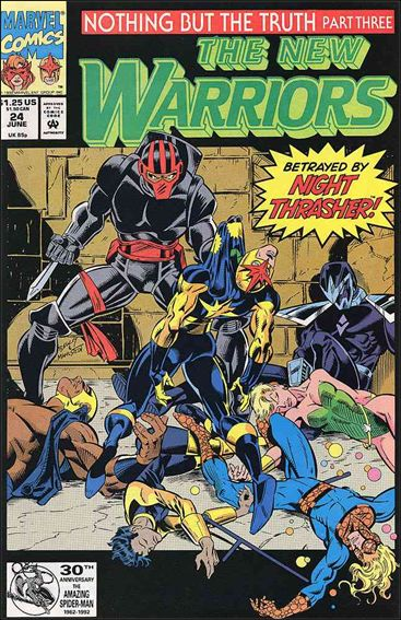 New Warriors (1990) 24-A by Marvel