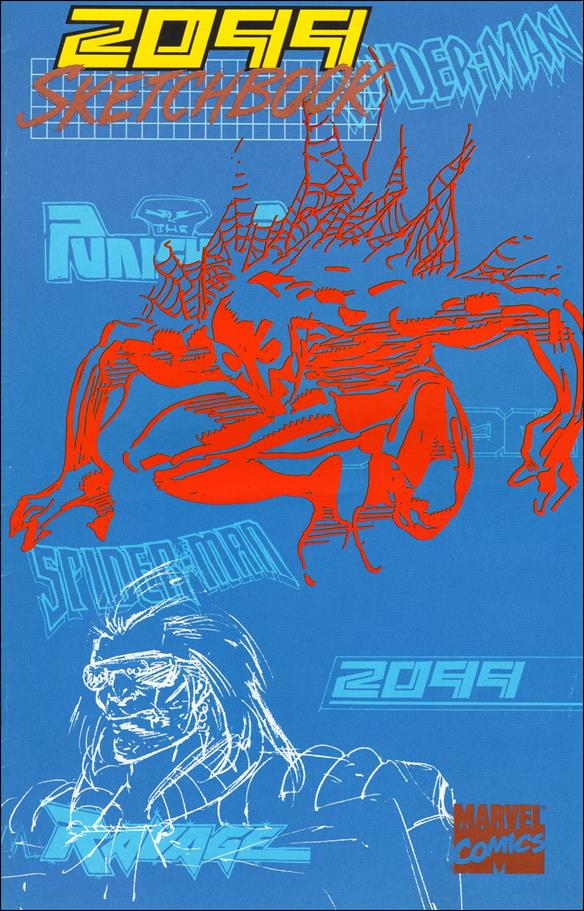 2099 Sketchbook 1-A by Marvel