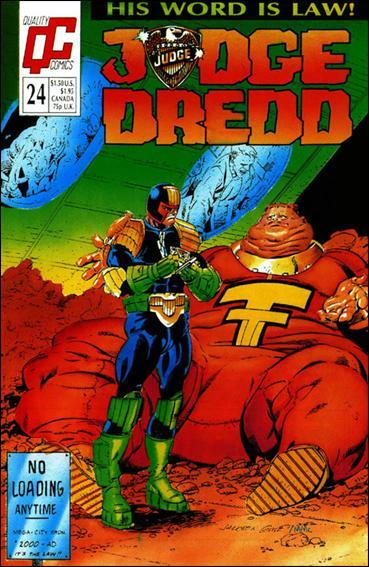 Judge Dredd (1987) (UK) 24-A by Quality Comics