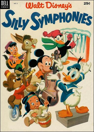 Silly Symphonies 3-A by Dell