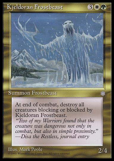 Magic the Gathering: Ice Age (Base Set)296-A by Wizards of the Coast