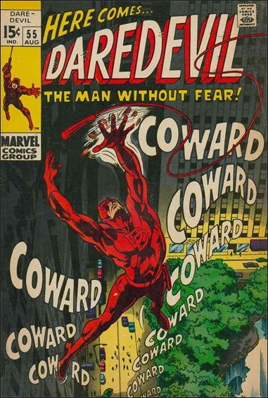 Daredevil (1964) 55-A by Marvel