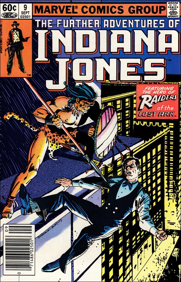 Further Adventures of Indiana Jones 9-A by Marvel