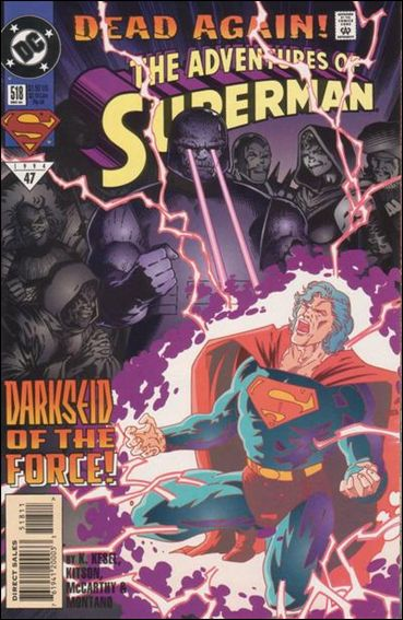 Adventures of Superman (1987) 518-A by DC