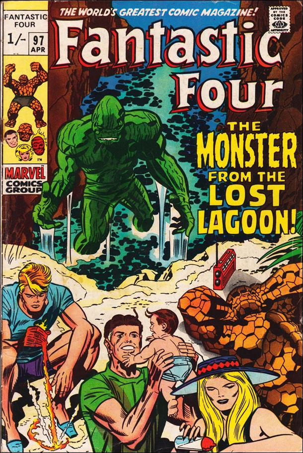 Fantastic Four (1961) 97-B by Marvel