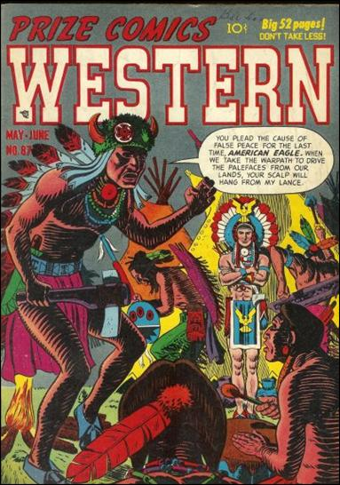 Prize Comics Western 87-A by Feature