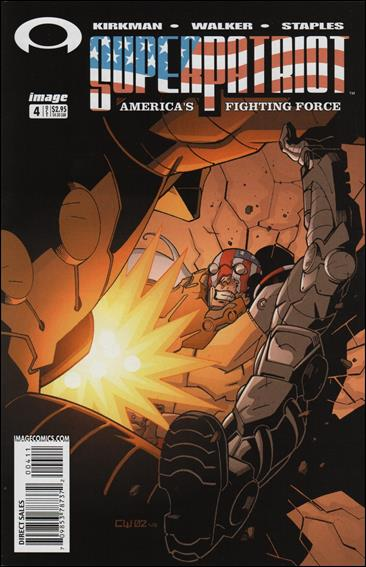 SuperPatriot: America's Fighting Force 4-A by Image