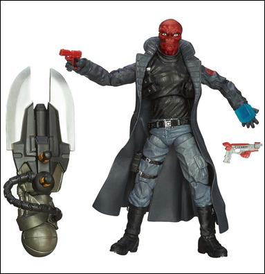 Marvel Legends Infinite: Captain America (Mandroid Series) Agents of Hydra (Red Skull) Loose by Hasbro