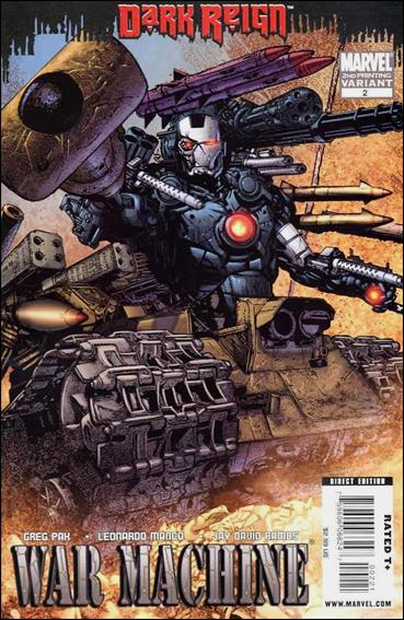 War Machine (2009) 2-B by Marvel