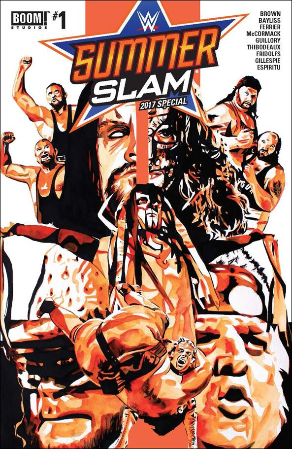 WWE: SummerSlam 2017 Special 1-A by Boom! Studios