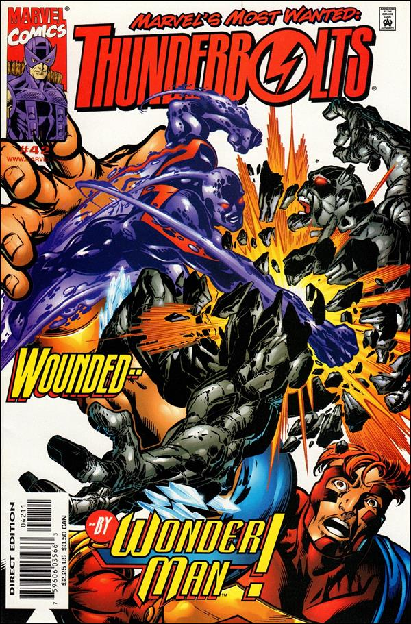 Thunderbolts (1997) 42-A by Marvel