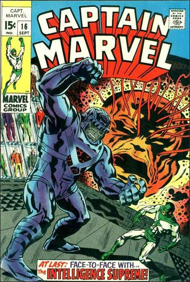 Captain Marvel (1968) 16-A by Marvel