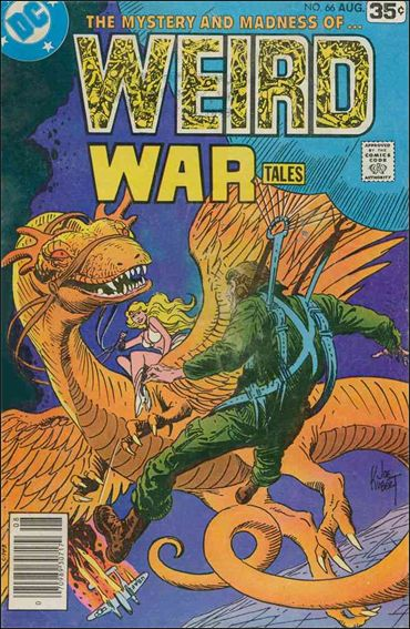 Weird War Tales (1971) 66-A by DC