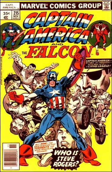 Captain America (1968) 215-A by Marvel