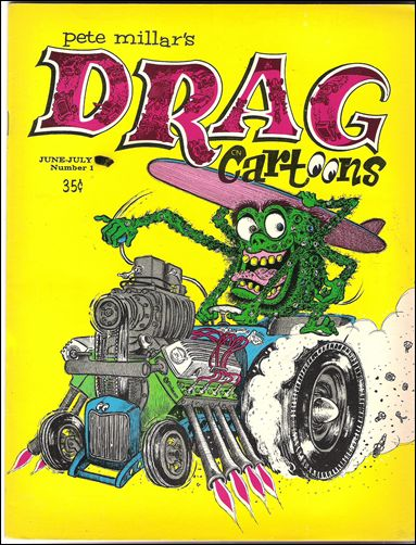 Drag Cartoons (1963) 1-A by Millar