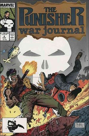 Punisher War Journal (1988) 4-A