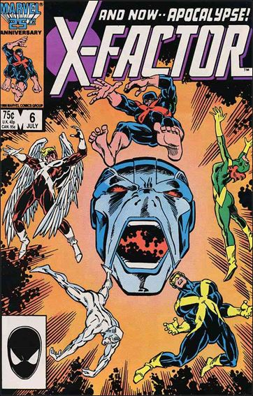 X-Factor (1986) 6-A by Marvel