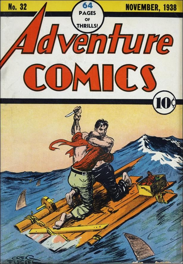 Adventure Comics (1938) 32-A by DC