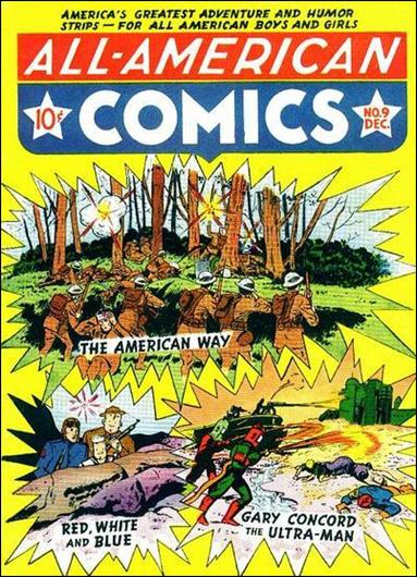 All-American Comics (1939) 9-A by DC
