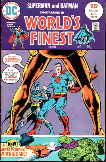 World's Finest Comics 229-A by DC