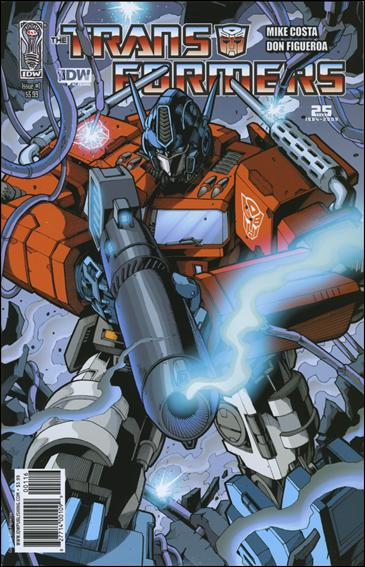 Transformers (2009) 1-F by IDW