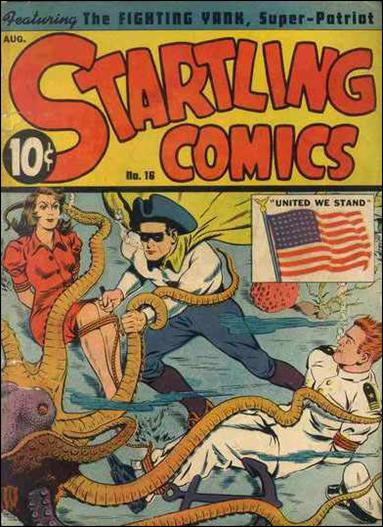 Startling Comics (1940) 16-A by Nedor