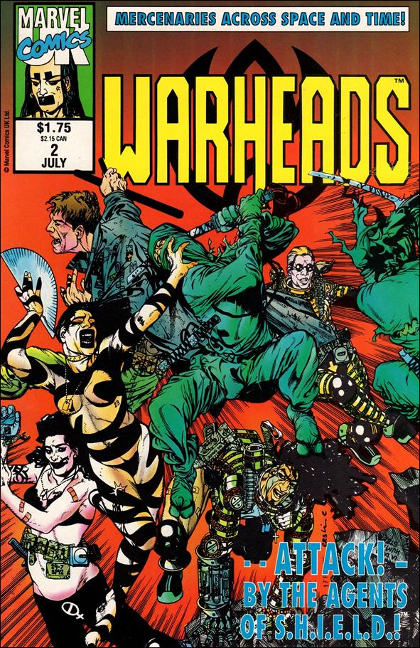 Warheads (UK) 2-A by Marvel UK