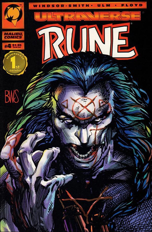 Rune (1994) 4-A by Malibu