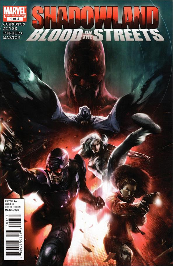 Shadowland: Blood on the Streets 1-A by Marvel