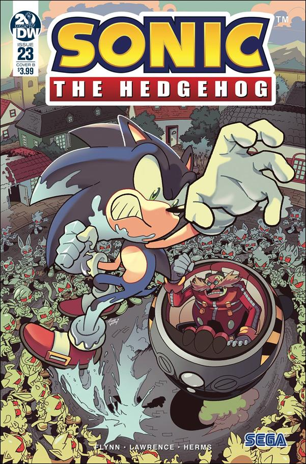 Sonic the Hedgehog (2018) 23-B by IDW