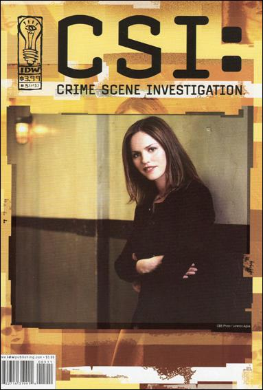 CSI: Crime Scene Investigation 5-B by IDW