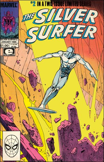 Silver Surfer (1988) 2-A by Epic