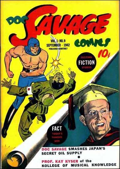 Doc Savage Comics (1940) 9-A by Street and Smith Publications