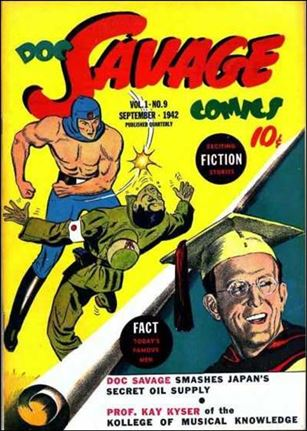 Doc Savage Comics (1940) 9-A
