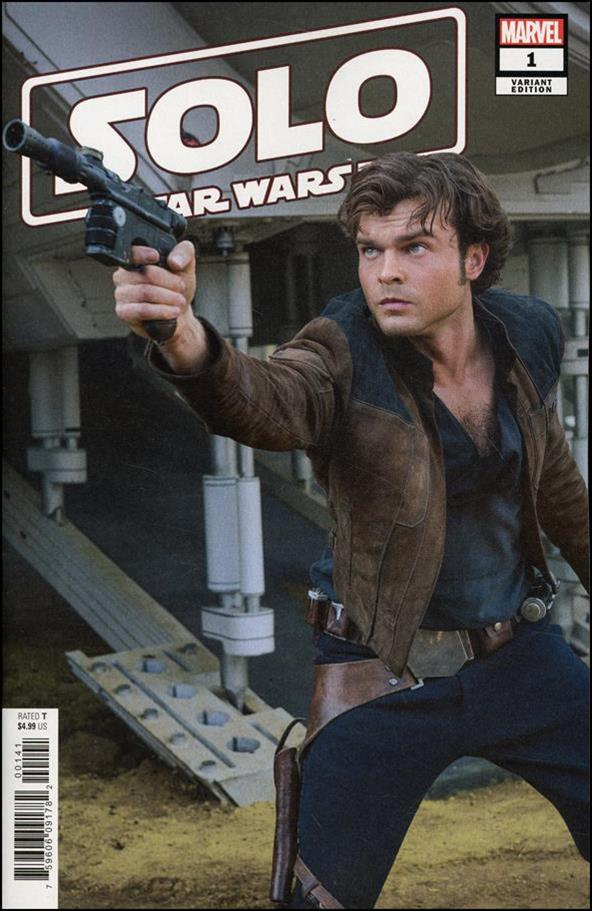 Solo: A Star Wars Story Adaptation 1-B by Marvel