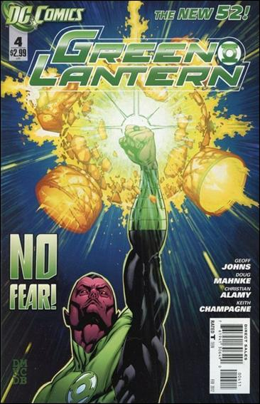 Green Lantern (2011) 4-A by DC