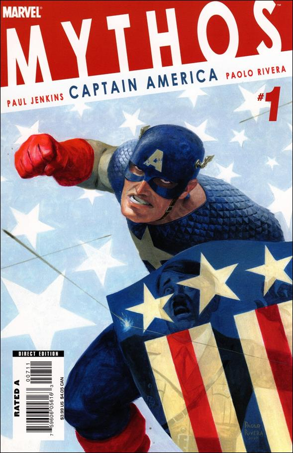 Mythos: Captain America 1-A by Marvel