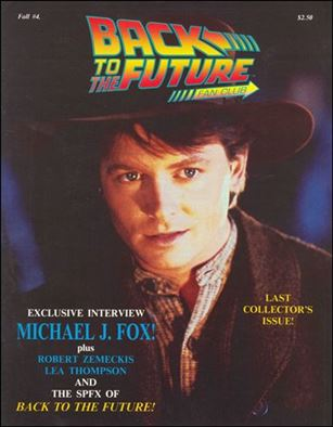 Back to the Future Fan Club Magazine 4-A