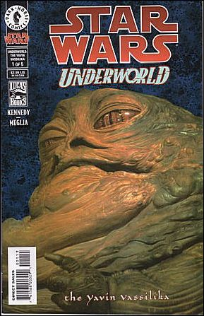 Star Wars: Underworld - The Yavin Vassilika 1-B by Dark Horse